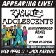 The Casualties, The Adolescents, & more at Jack Rabbits