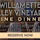 Willamette Valley Vineyards Wine Dinner