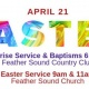 Sunrise Service/Baptisms & Easter Sunday