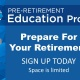 Pre-Retirement Education Program- KACo May 16 Afternoon Session