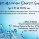 Water Baptism Easter Sunday 10:30 am