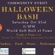 Halloween Bash Community Event