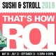 Sushi & Stroll Summer Walks 2019