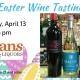 Easter Wine Tasting