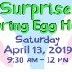 Surprise Spring Egg Hunt 2019