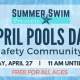 April Pools Day - Water Safety Community Event
