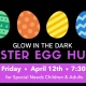 Special Needs Children & Adult Glow in the Dark Egg Hunt