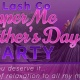 Mothers Day Pamper Me Party