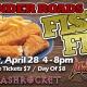 Crashrocket LIVE with the annual Fish Fry