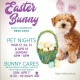 Memorial City Mall Pet Night with the Easter Bunny