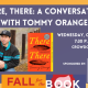 Fall for the Book presents There There: A Conversation with Tommy Orange