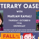 Fall for the Book presents Literary Oases with Marjan Kamali