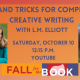 Fall for the Book presents Tips and Tricks for Compelling Creative Writing with