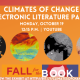 Fall for the Book presents Climates of Change Electronic Literature Panel