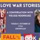 Fall for the Book presents Love War Stories: A Conversation with Ivelisse Rodrig