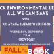 Fall for the Book presents The Beck Environmental Lecture: All We Can Save