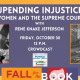 Fall for the Book presents Upending Injustice: Women and the Supreme Court
