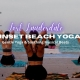 Sunset Gentle Beach Yoga and Guided Relaxation