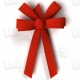 Red wreath bows - Holiday Manufacturing Inc