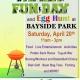 Egg Hunt + Family Fun Day