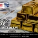 Special Giveaway - Win A Real Gold Bar | Cash for Gold USA