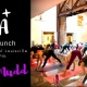 Artasana at 21c Museum Hotel with Abby Mudd: Yoga + Art + Brunch + Mimosas