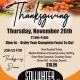 Stillwater Grille OPEN ON THANKSGIVING DAY