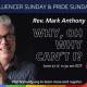 Pride Celebration Service - Rev. Mark Anthony Lord