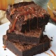 Mother's Day Couples Night Out - Boozy Brownies with Salted Caramel Rum Sauce