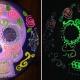 Cinco de Mayo Glow Skulls