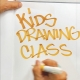 Kids' Weekly Drawing Class on Sunday Mornings