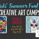 Summer Arts Camps for Kids at Painting With A Twist in Savannah