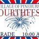 Fourthfest Parade in the Village of Pinehurst