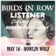 BIRDS IN ROW + LISTENER