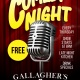 Comedy Night Every Thursday!