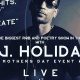 J. Holiday LIVE ON STAGE MAY 11TH MOTHERS DAY WEEKEND