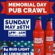 Memorial Day Pub Crawl