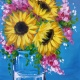 Sunny Bouquet: Mother's Day Painting Party