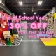 June is Schools Out Month 30% Discount