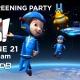 Ready Jet Go! Screening Party