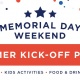 Memorial Day Weekend Summer Kickoff Party with Live Band Karaoke