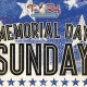 Memorial Day Sunday