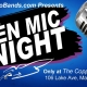 Open Mic Night at the Copper Rocket