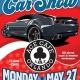 Memorial Day Car Show!