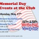 Memorial Day Events at the Club