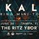 Ekali – Spring Mini-Tour – Tampa, FL