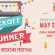 Kickoff to Summer Memorial Weekend Festival