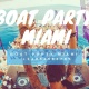 #Miami Party Boat + Open-bar + Jet-ski Memorial Day Weekend
