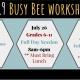 2019 Busy Bee Workshops - Puppet Workshop - Grades 6-11