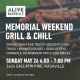Memorial Weekend Grill & Chill